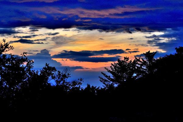 Pura Vida - Costa Rica - Monteverde - Sonnenuntergang