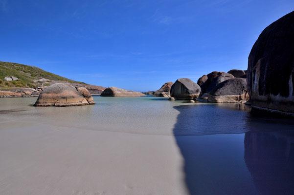 Australien, Australia, Westaustralia, Western Australia, Landschaft, Meer, Küste, Strand, Felsen, Elephant Rocks