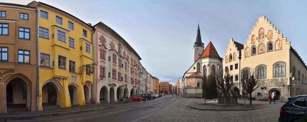 Panorama - Wasserburg am Inn - Innenstadt