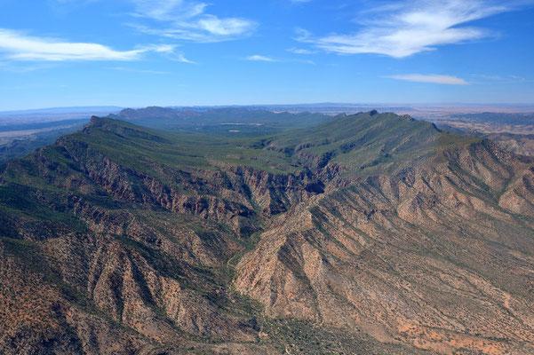 Australien, Australia, Südaustralien, South Australia, Landschaft, Rundflug, Über, Flinders Ranges