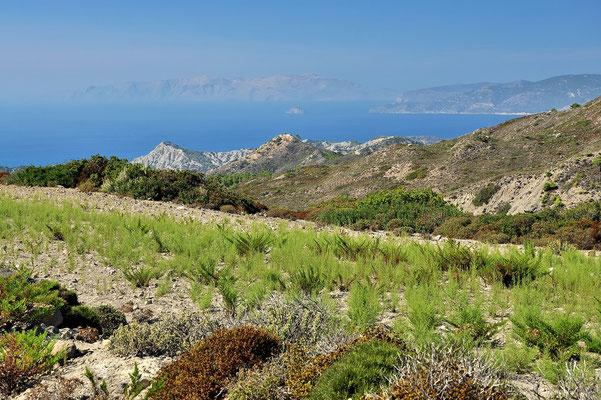 Griechenland, Rhodos,  Wanderung, Mesanagros