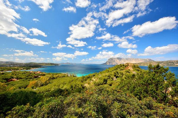 Sardinien, Sardegna, Landschaft, Meer, Wolken, Capo Coda Cavallo