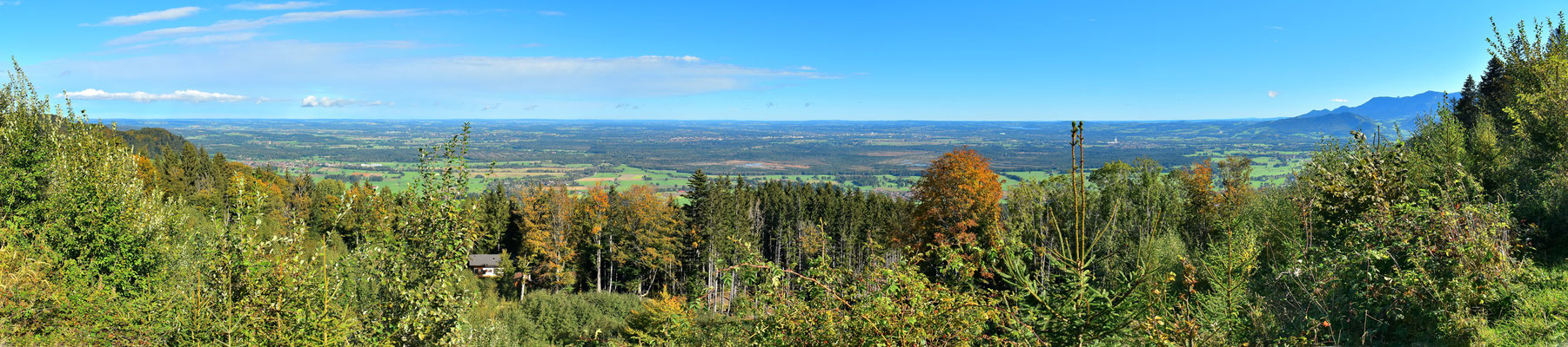 Panorama - Berge - Alpen - Wanderung - Chiemgau - Bad Feilnbach