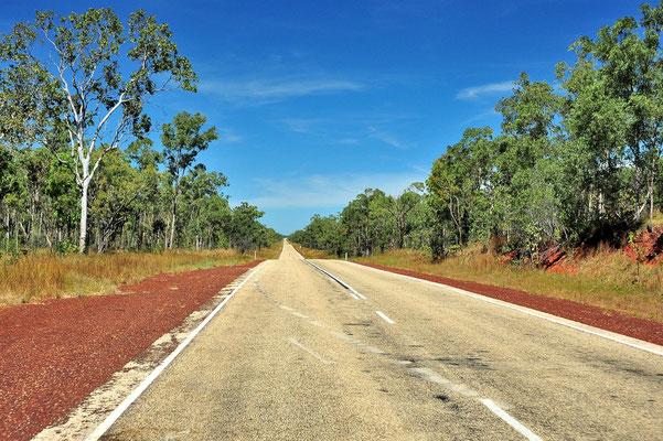 Australien, Australia, Nordaustralien, Northern Territory, Landschaft, Strasse, Rot, Weltreise