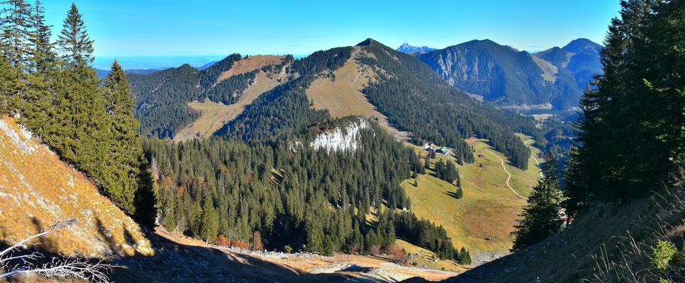 Panorama - Berge - Alpen - Wanderung - Bodenschneid