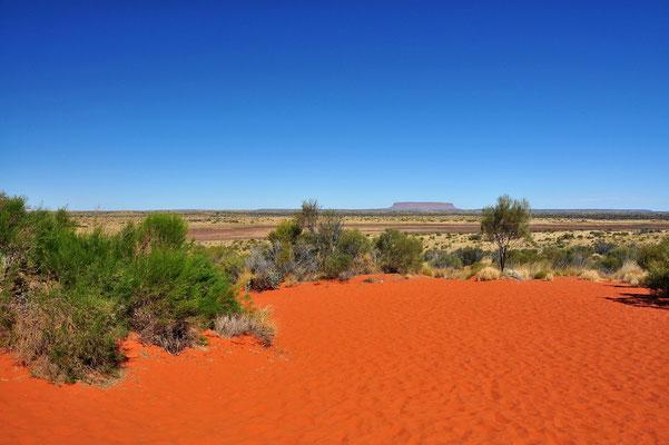 Australia - Australien -Zentralaustralien - Outback - Northern Territory - Mt Conner Lookout