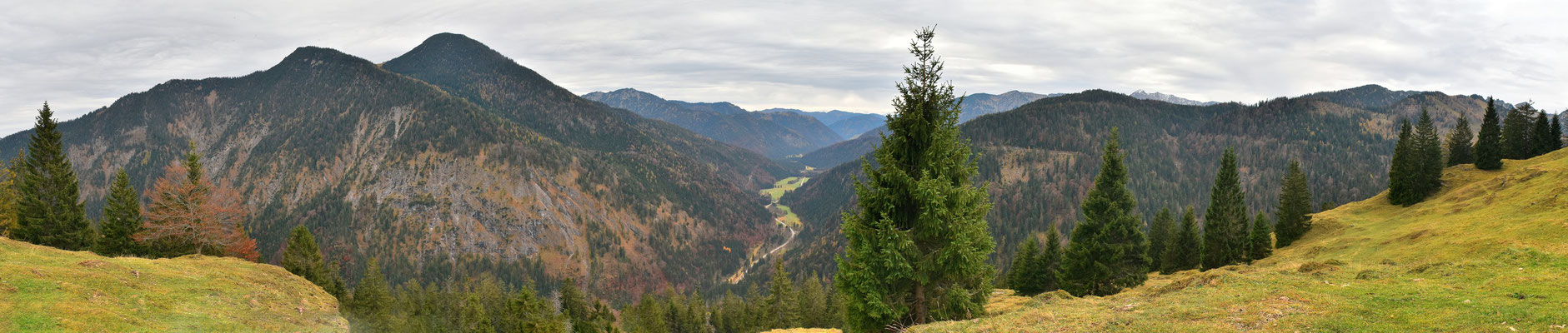 Panorama - Berge - Alpen - Wanderung - Seeberg