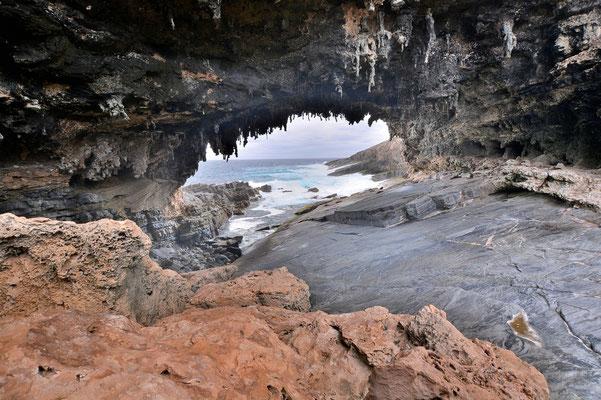 Australien, Australia, South Australia, Kangaroo Island, Landschaft, Meer, Küste, Bucht, Höhle Admiral's Arch