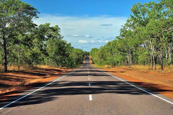 Australien, Australia, Nordaustralien, Northern Territory, Landschaft, Strasse, Rot, Kakadu National Park