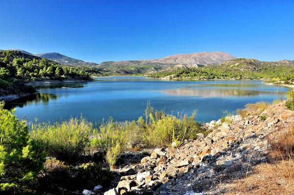 Griechenland, Rhodos,  Wanderung, See, Apolakkia