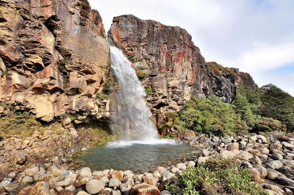 Neuseeland, Nordinsel, Wasserfall, Taranaki Falls