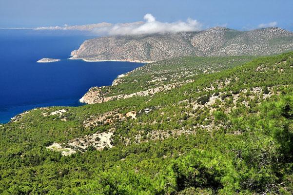 Griechenland, Rhodos, Meer, Küste, Monolithos