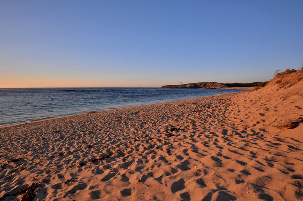 Australien, Australia, Westaustralia, Western Australia, Landschaft, Meer, Küste, Sonnenuntergang, Prevelly Beach