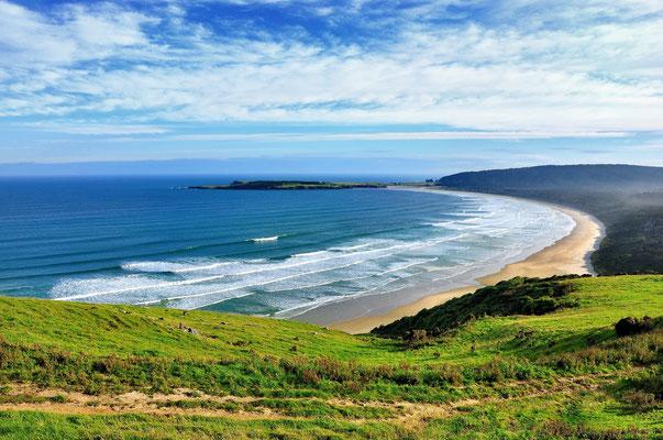 Neuseeland, Südinsel, Küste, Florence Hill Lookout