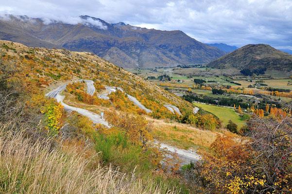 Neuseeland, Südinsel, Serpentine, Herbst