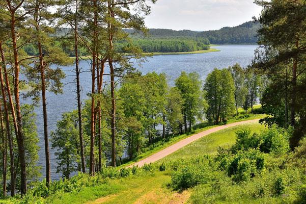 Litauen, Rundreise, Landschaft, Wanderung, See, Aukštaitija National Park