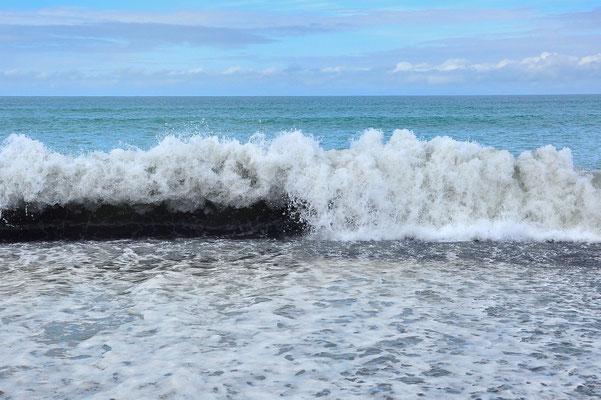 Neuseeland, Nordinsel, See, Meer, Welle, Cape Kidnappers