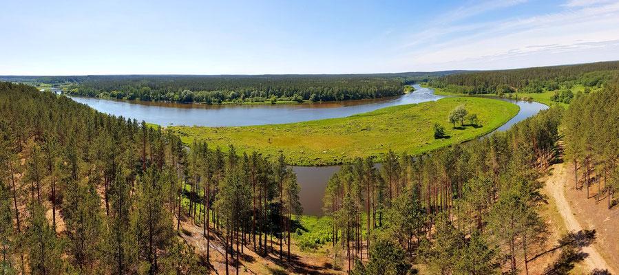 Litauen, Rundreise, Landschaft, See, Dzukijos Nacionalinis Parkas(Nationalpark)