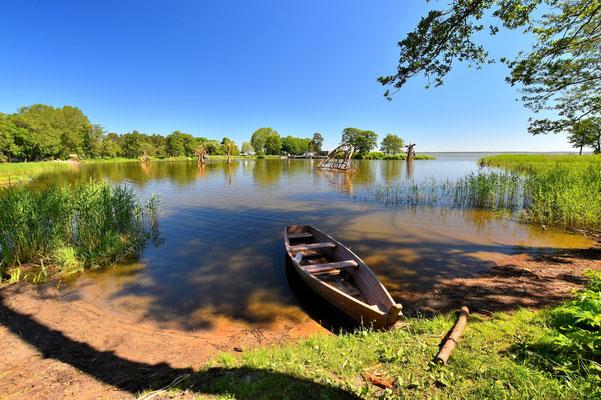 Litauen, Rundreise, Landschaft, Halbinsel Kurische Nehrung, See