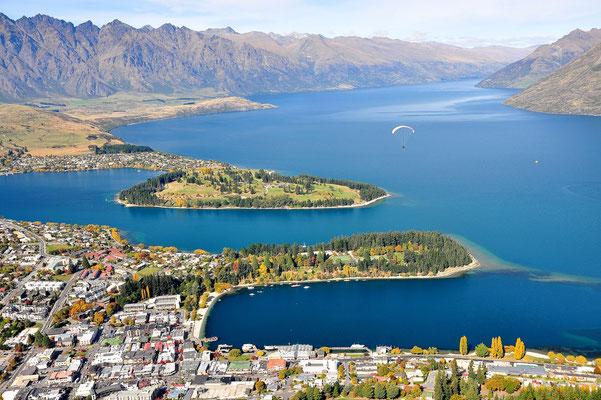 Neuseeland, Südinsel, See, Queenstown