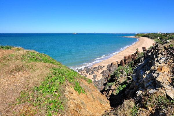 Australien, Australia, Ostaustralien, Ostküste, Queensland, Landschaft, Wasser, Meer, Sandstrand, Eimeo Beach