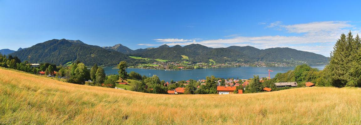 Panorama, Tegernsee, Landschaft, Berge, Alpen, Sommer