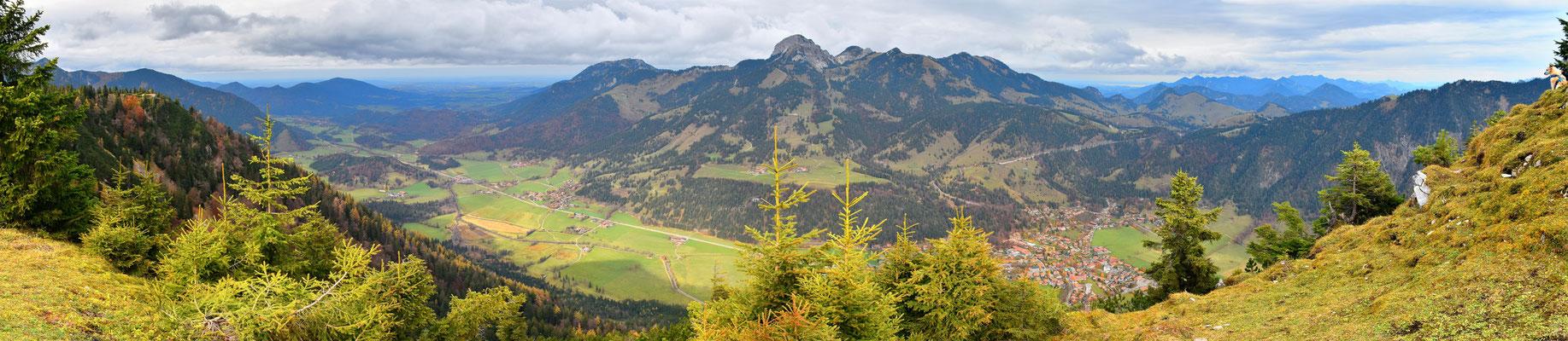Panorama - Berge - Alpen - Wanderung - Seeberg - Sommer