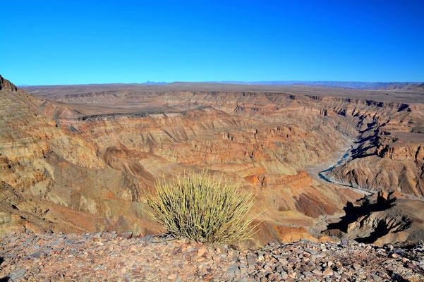 Namibia - Rundfahrt - Reise - Rundreise - Landschaft - Fish River Canyon
