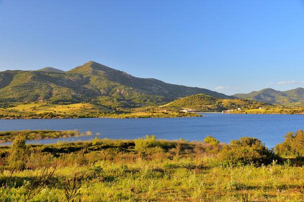 Sardinien, Sardegna, Landschaft, See, Lago di Posada