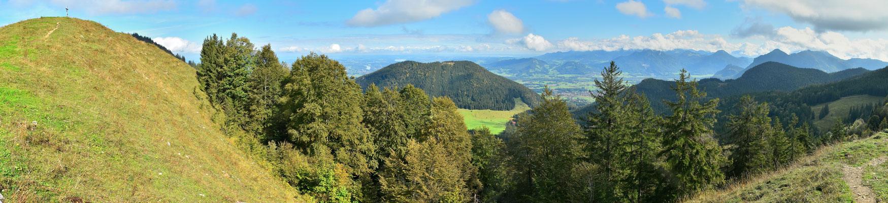 Panorama - Berge - Alpen - Wanderung - Gipfel Mitterberg