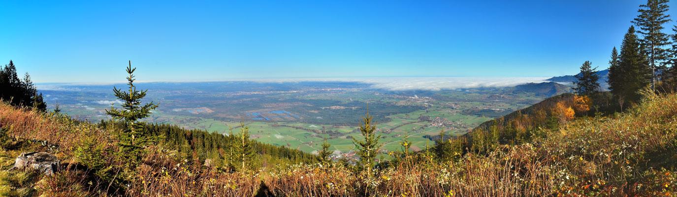 Panorama - Berge - Alpen - Wanderung - Farrenpoint - Chiemgau