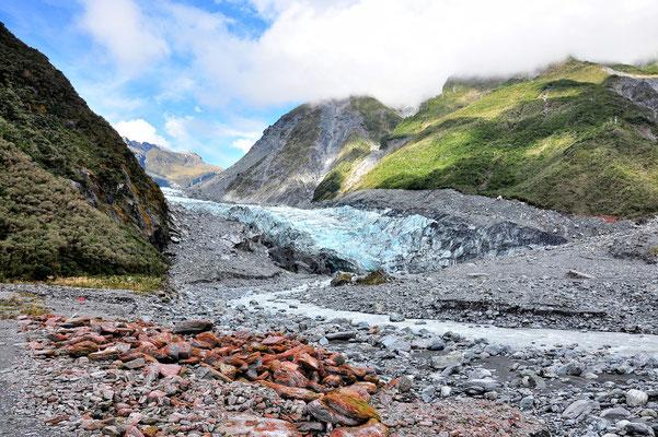 Neuseeland, Südinsel, Berge, Gletscher, Fox Glacier