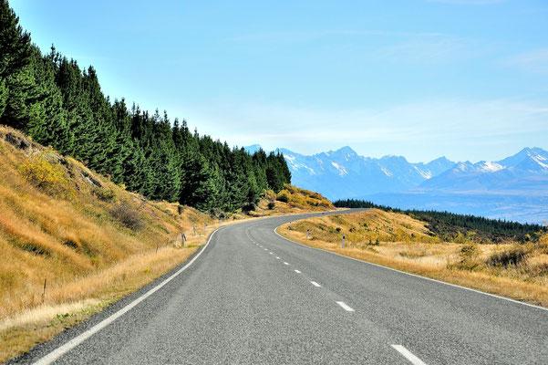 Neuseeland, Südinsel, Mont Cook Nationalpark
