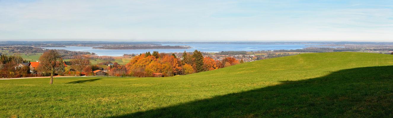 Panorama, Chiemgau, Chiemsee, Herbst