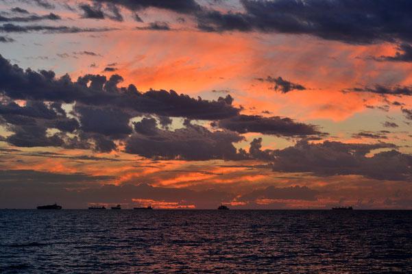 Australien, Australia, Westaustralia, Western Australia, Landschaft, Felsen, Wanderung, Meer, Sonnenuntergang, Perth Beaches