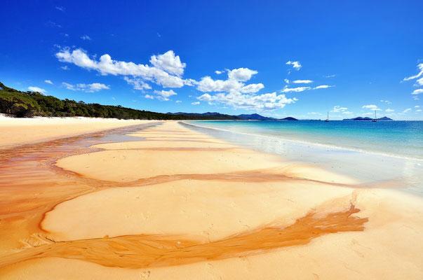 Australien, Australia, Ostaustralien, Ostküste, Queensland, Landschaft, Wasser, Meer, Sandstrand, Whitsunday Islands