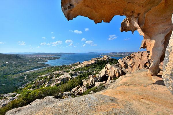 Sardinien, Sardegna, Landschaft, See, Küste, Bucht, Rahmen, Felsen, Capo d'Orso