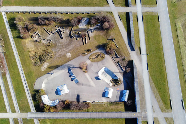Vogelperspektive, Drohnenfoto, Drohnenbild, Luftaufnahme, Bayern, München, Park