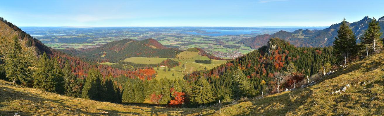 Panorama - Berge - Alpen - Wanderung - Chiemgau - Bad Feilnbach - Chiemsee