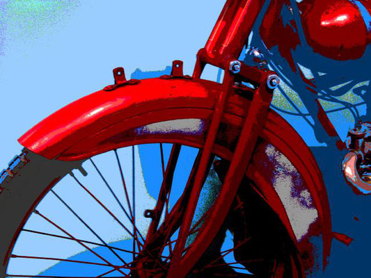 moto, Motorrad, digital, Engels, alt, Siebdruck
