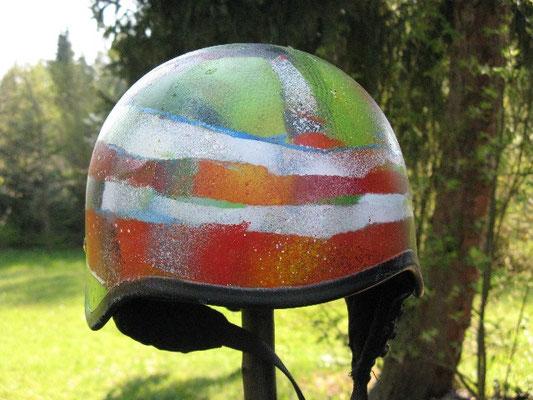 Motorradhelm, moto, art, streetart, artist, Graffiti, Helm, contract, labor, Auftragsarbeit, Kunst