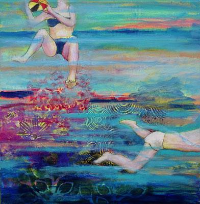 Acrylique sur toile 30X30cm