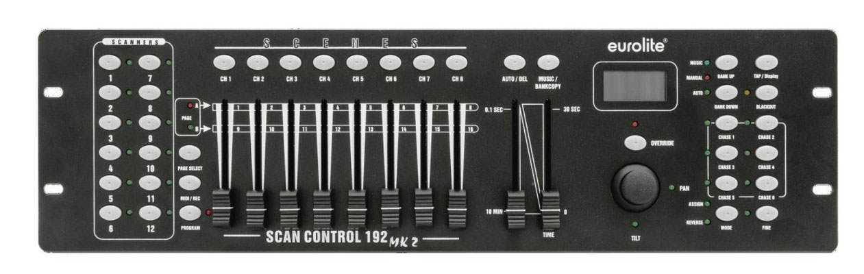 Eurolite DMX Move Control Panneau de contr/ôle de l/éclairage DMX avec g/én/érateur deffets dynamiques