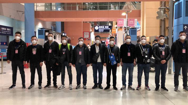 2020年11月27日関西空港上陸