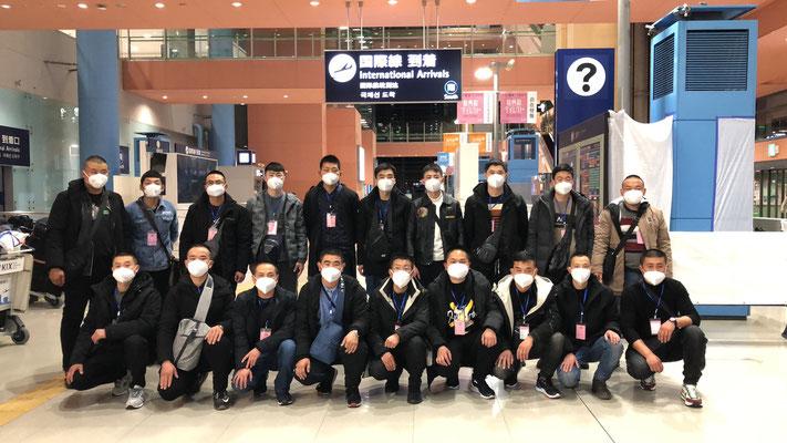2020年12月18日関西空港上陸