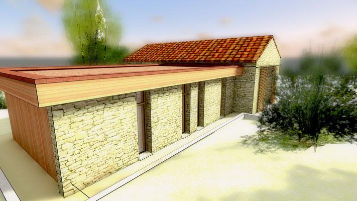 pierre construction lalbenque dans le Quercy