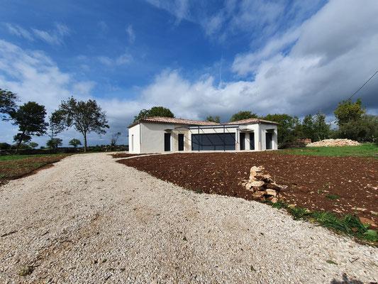 conception réalisation d'une maison neuve Sud du lot Quercy 46  architecte