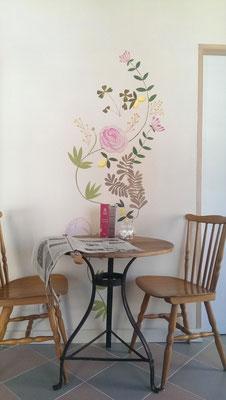 un cabinet médical en salon de thé Lalbenque 2014