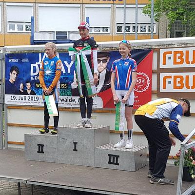 Siegerehrung Schülerinnen U15
