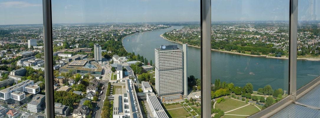 Bonn Blick vom Post Tower